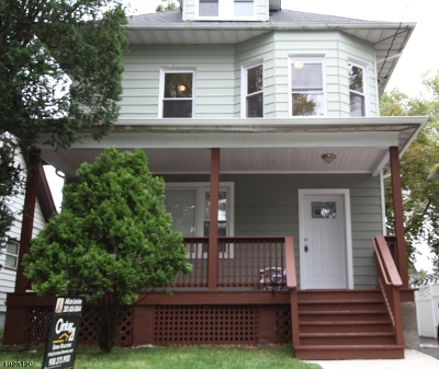Hillside Twp. Single Family Home For Sale: 32 Hollywood Ave