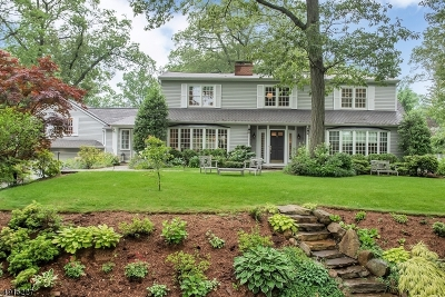 Summit City Single Family Home For Sale: 15 Manor Hill Rd