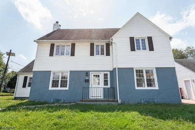 Rahway City Single Family Home For Sale: 376 Maple Ave
