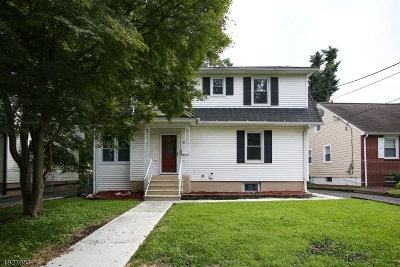 Roselle Park Boro Single Family Home For Sale: 26 E Lincoln Ave
