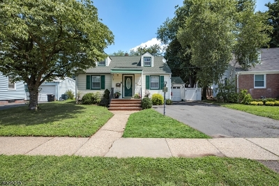 Hillside Twp. Single Family Home For Sale: 547 Plymouth Rd