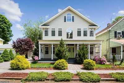 Scotch Plains Twp. Single Family Home For Sale: 413 Forest Rd