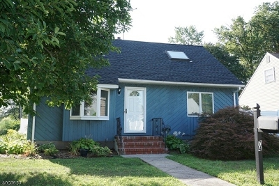 Clark Twp. Single Family Home For Sale: 74 Hutchinson St