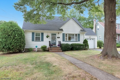 Cranford Twp. Single Family Home For Sale: 17 Alan Okell Pl