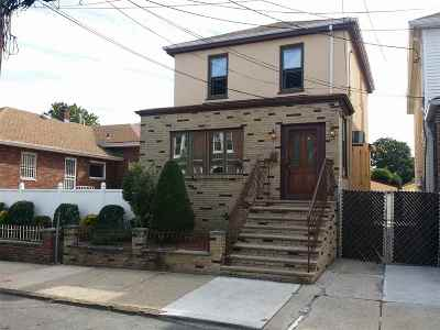 North Bergen Single Family Home For Sale: 707 82nd St