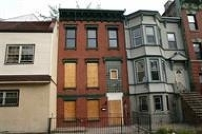 Jersey City NJ Multi Family Home For Sale: $75,000