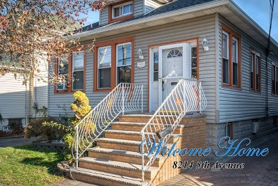 North Bergen Single Family Home For Sale: 8214 5th Ave