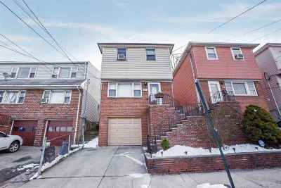 North Bergen Single Family Home For Sale: 1014 Liberty Ave