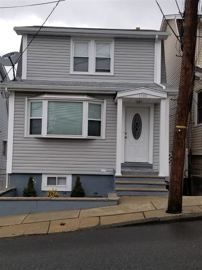 North Bergen Single Family Home For Sale: 1508 80th St