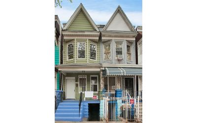 Jersey City Single Family Home For Sale: 118 Grant Ave