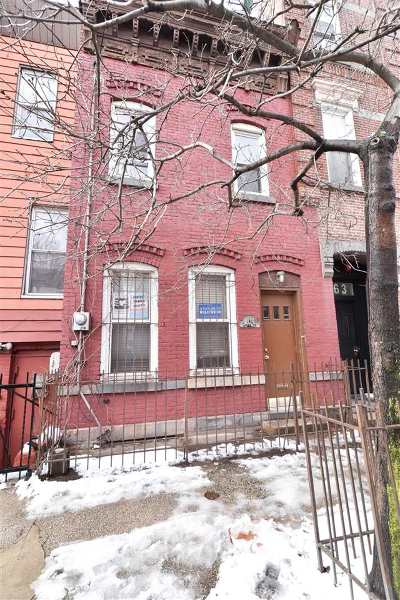 Jersey City Single Family Home For Sale: 161 Chestnut Ave