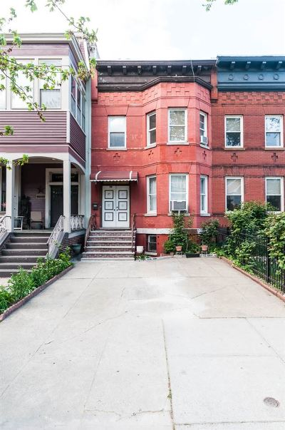 Jersey City Single Family Home For Sale: 56 Kensington Ave