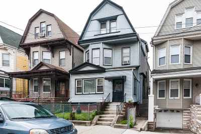 Jersey City Single Family Home For Sale: 257 Jewett Ave