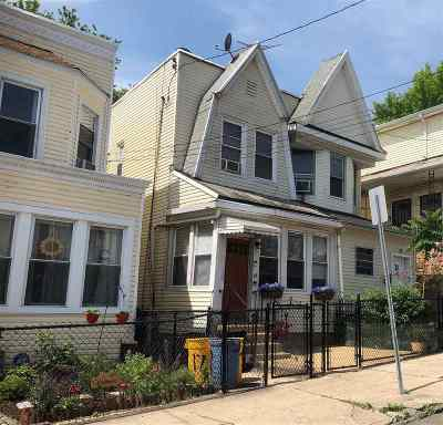Jersey City Single Family Home For Sale: 19 Claremont Ave