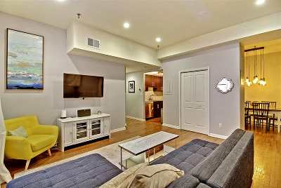 Jersey City NJ Condo/Townhouse For Sale: $715,000