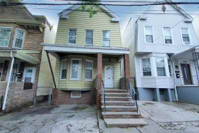 Jersey City NJ Multi Family Home For Sale: $399,999