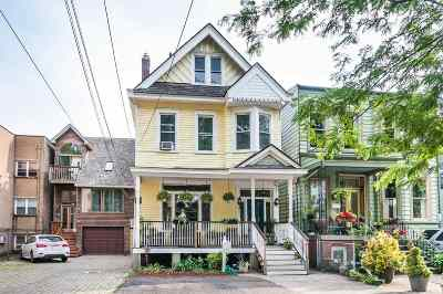 Jersey City Single Family Home For Sale: 81 Sherman Pl