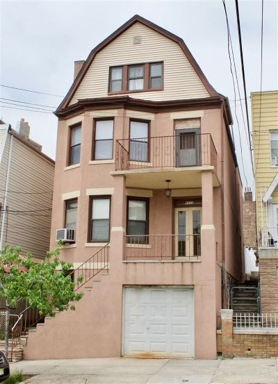 West New York Multi Family Home For Sale: 6505 Hudson Ave