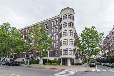 Hoboken Condo/Townhouse For Sale: 1300 Grand St #505