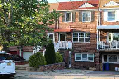 Bayonne Single Family Home For Sale: 175 West 27th St