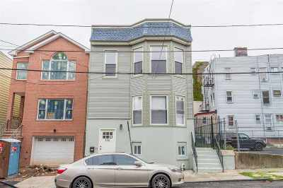 Jersey City Single Family Home For Sale: 156 Orient Ave
