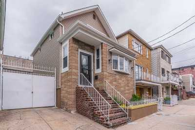 Jersey City Single Family Home For Sale: 201 Cambridge Ave