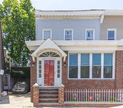Jersey City Single Family Home For Sale: 203 Cator Ave
