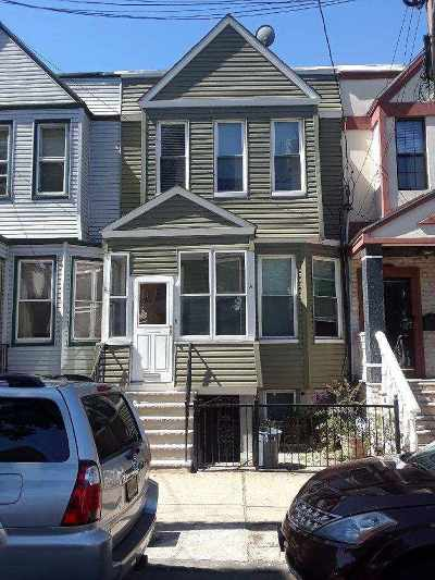 Jersey City Single Family Home For Sale: 449 Fairmount Ave