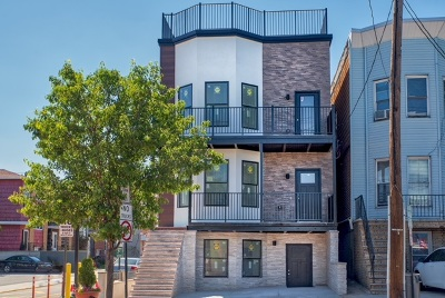 Union City Condo/Townhouse For Sale: 901 Palisade Ave #3