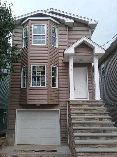 North Bergen Single Family Home For Sale: 7015 Smith Ave