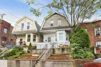 Jersey City Single Family Home For Sale: 188 Columbia Ave
