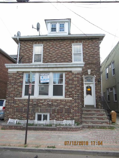 North Bergen Multi Family Home For Sale: 8805 3rd Ave