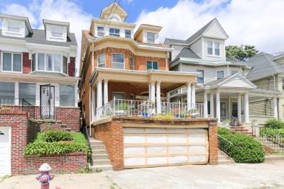 Jersey City Single Family Home For Sale: 337 Arlington Ave