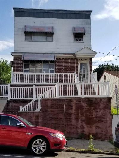 Jersey City Single Family Home For Sale: 243 Stevens Ave