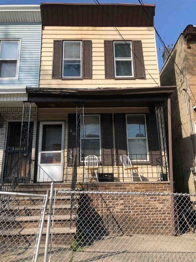 Jersey City Single Family Home For Sale: 20 Union St