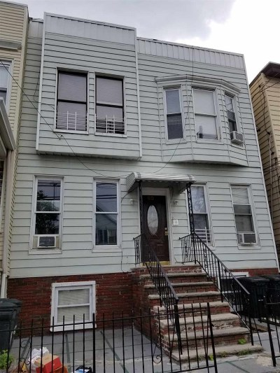 Jersey City NJ Multi Family Home For Sale: $875,000
