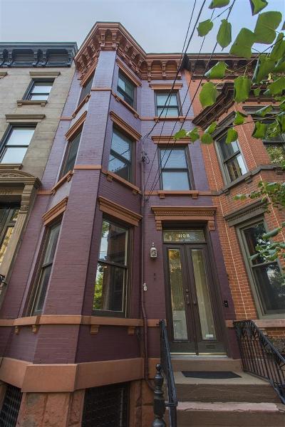 Hoboken Single Family Home For Sale: 1108 Bloomfield St