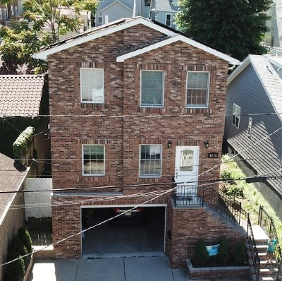 North Bergen Single Family Home For Sale: 8614 Durham Ave