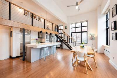 Jersey City Condo/Townhouse For Sale: 205 10th St #2M