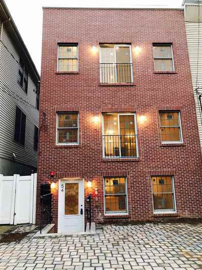 Jersey City Condo/Townhouse For Sale: 54 Sherman Ave #1