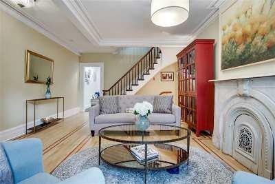 Hoboken Single Family Home For Sale: 203 Garden St