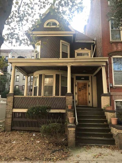 Jersey City Single Family Home For Sale: 155 Belmont Ave
