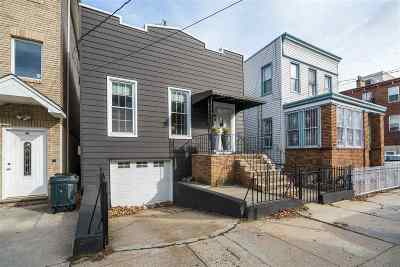 Jersey City Single Family Home For Sale: 66 Irving St