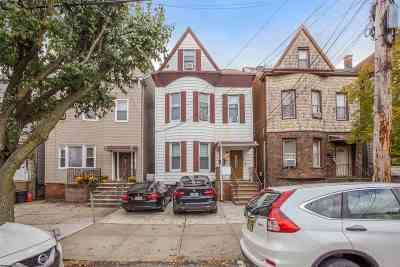 Weehawken Multi Family Home For Sale: 221 Jane St