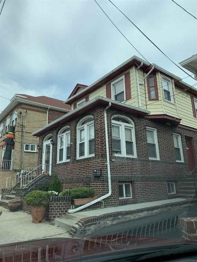 North Bergen Multi Family Home For Sale: 134 Hillcrest Pl