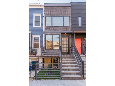 Jersey City Single Family Home For Sale: 427 Monmouth St