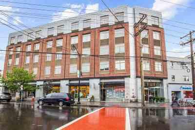 Jersey City Condo/Townhouse Active Rental: 217 Newark Ave #314