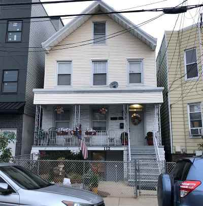 Jersey City Multi Family Home For Sale: 112 Bleecker St