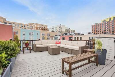 Jersey City Condo/Townhouse For Sale: 299 Grand St #C