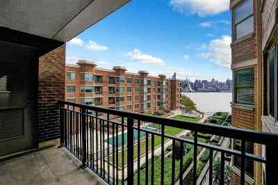 West New York Condo/Townhouse For Sale: 22 Avenue At Port Imperial #422